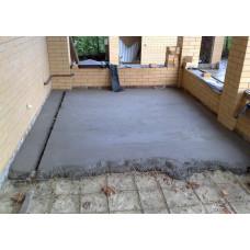 Утепление полов бетоном
